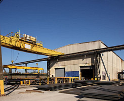 Steel Plate Processing Facility