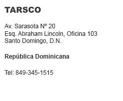 Tarsco República Dominicana