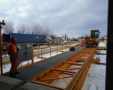 Instalación de Blastech Rail Services