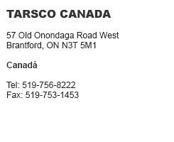 Tarsco Canadá