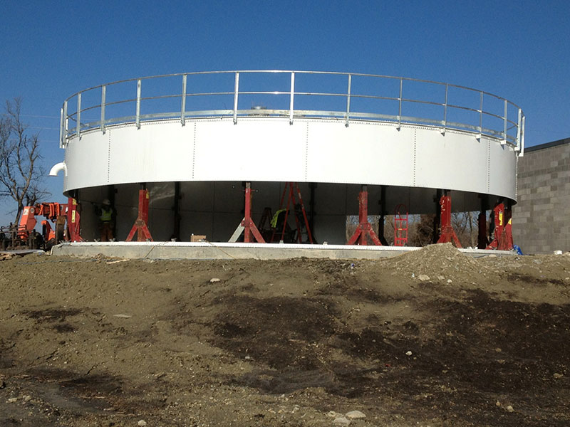 bolted flat panel storage tank supplier