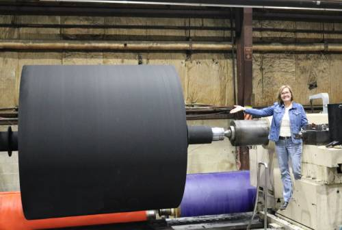 Brant Industrial Roll Acquires Largest Lathe in North America