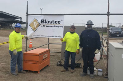 Blastco Painters Compete in Painters Competition